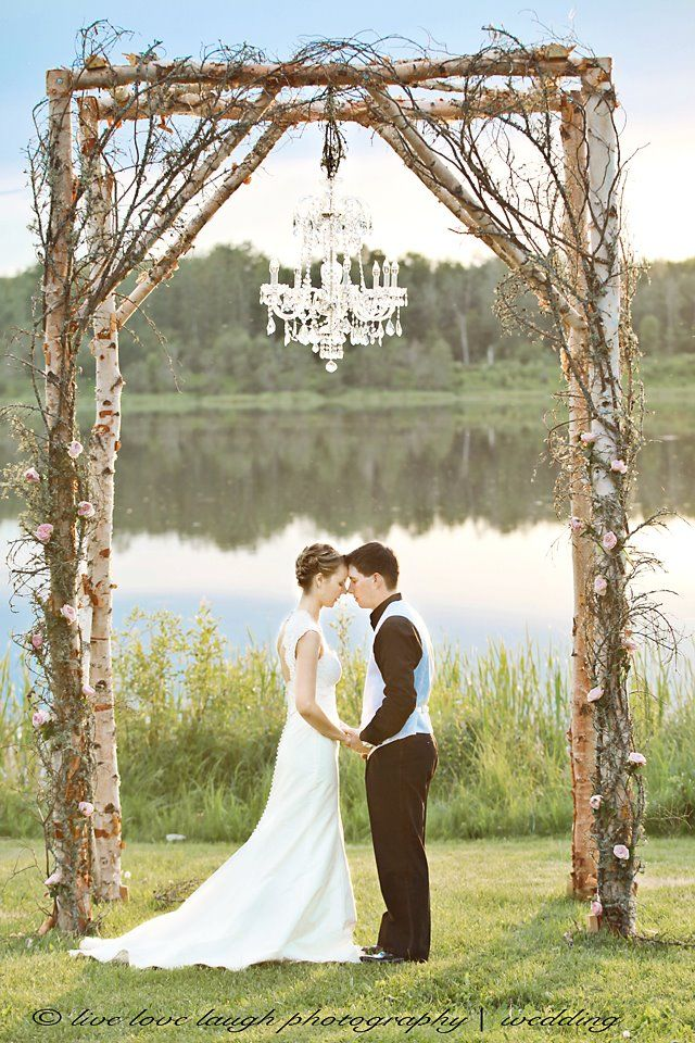 1000 ideas about rustic arbor on pinterest driftwood for Arbor wedding decoration ideas