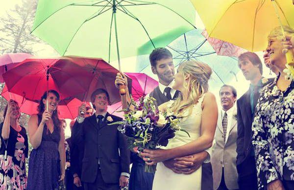 Chi ha paura di un matrimonio sotto la pioggia?
