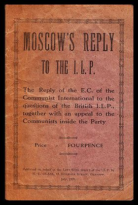 72 best reading room discussion group images on pinterest cover of a pamphlet by the left wing group of the ilp published in glasgow fandeluxe Choice Image