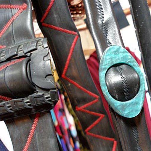 g rtel aus fahrradschlauch diy upcycling pinterest