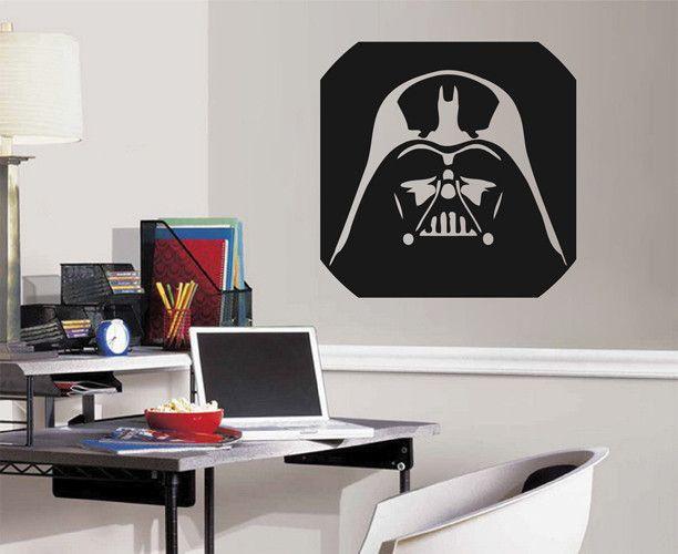 ik2253 Wall Decal Sticker Darth Vader Star Wars children's bedroom Living