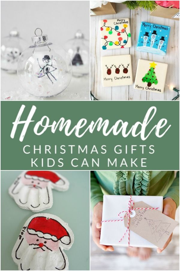 12 Sentimental Homemade Christmas Gifts From Kids Homemade Christmas Gifts Christmas Gifts For Parents Christmas Gifts