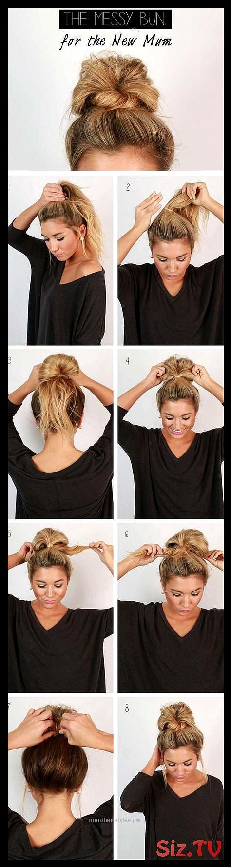 12 Super Easy Hairdos For Those Lazy Days 12 Super Easy Hairdos For Those Lazy Days These Super Easy Hairdos Are Perfect When You Have Those Lazy Days...