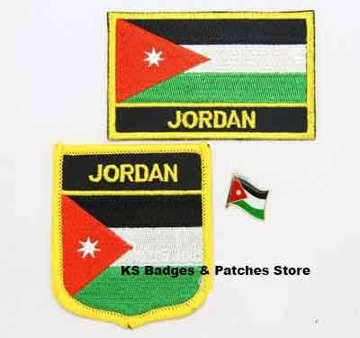 Jordan flag patch badge 3pcs a Set Free Shipping #Affiliate