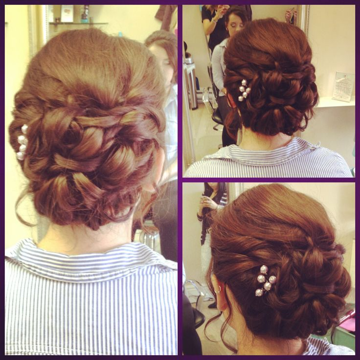 Updo for Prom #bbbeauty #bbbteam #curls www.brittanybuckhair.com