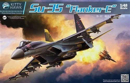 Kitty Hawk 1/48 Sukhoi Su-35 Flanker-E - KH80142