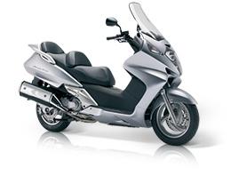 My new ride of choice!  Honda Silver Wing!