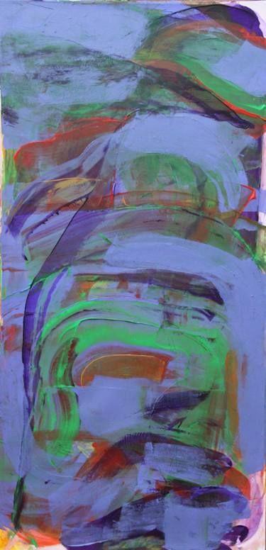 "Saatchi Art Artist Daria Magda Błażek; Painting, ""Touch of blue"" #art"