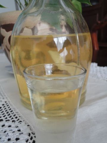 Licor casero de cidra