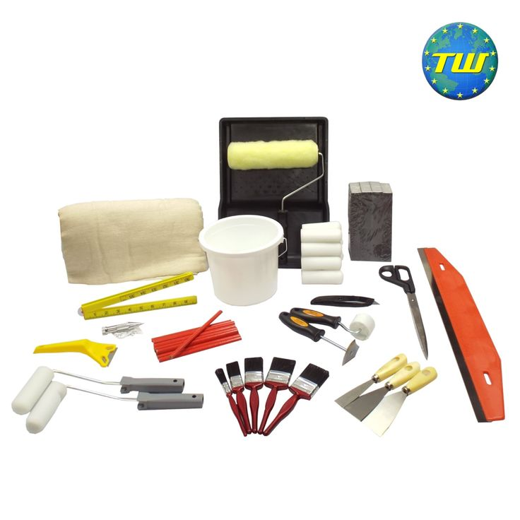 http://www.twwholesale.co.uk/product.php/section/9135/sn/Starter-Decorator-Tools 16 Piece Starter Decorator Tool Kit designed for apprenticeships, college students and new job starters. All of the tools in this set have been carefully selected by painting & decorating tutors and professional decorators - ensuring that you have the right tool for the job from day 1 as you start out on your path as a painter decorator.
