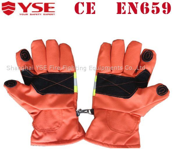 2015 Hot selling flame resistant fire firefighter glove with heat blocking, View fire firefighter glove, YSE Product Details from Shanghai YSE Fire Fighting Equipment Co., Ltd. on Alibaba.com