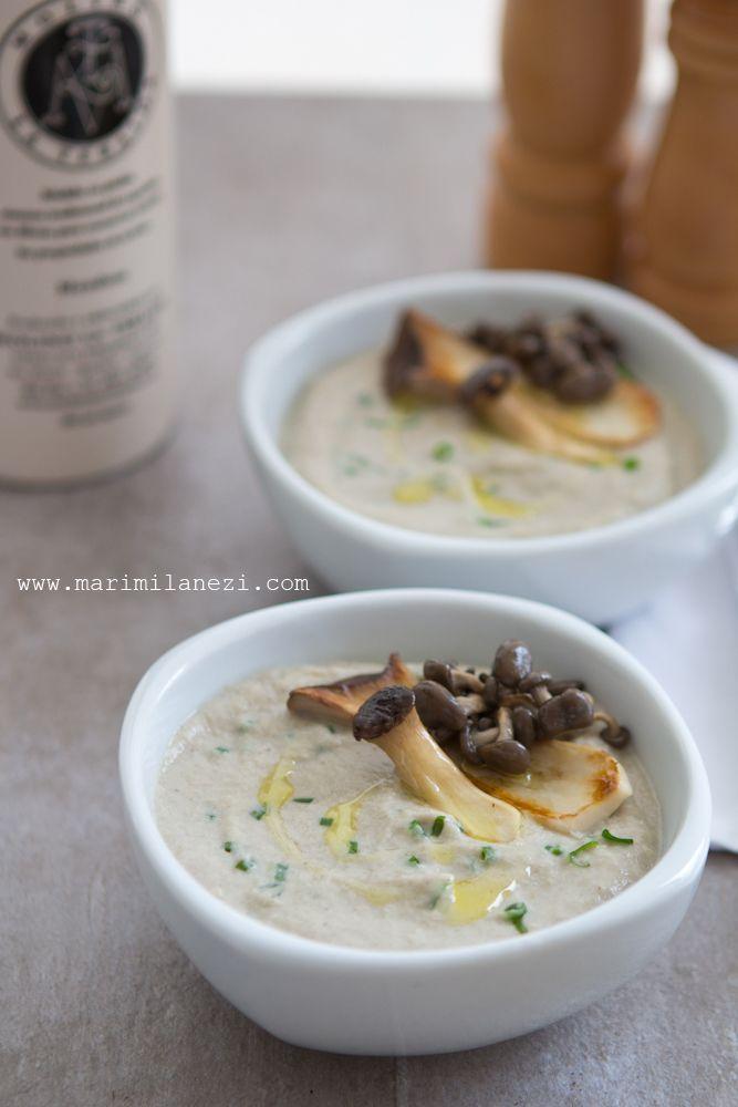 Sopa creme de cogumelos com castanha do pará – À Milanesa – Receitas para intolerantes