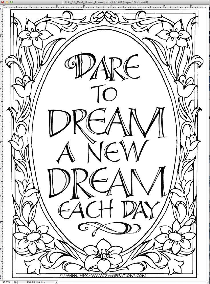 41 best Adult Quote coloring pages images on Pinterest Coloring