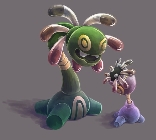 lileep cradily 345 346 evolution pokemon