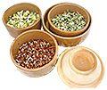 Golden Fields - Stone mills, fermentation pots and tea's