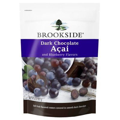 These need to come to the UK!!! Brookside Dark Chocolate Acai with Blueberry