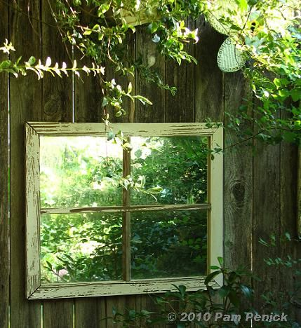 @Shayna Leenstra voss or you could hang mirrors on your fence to make the yard seem larger