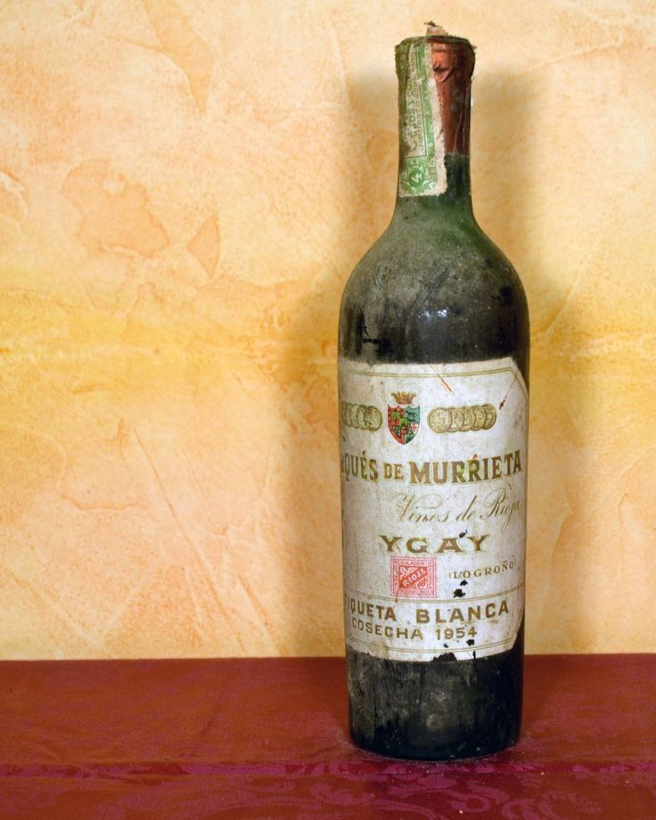 YGAY BODEGAS MARQUES DE MURRIETA 1954