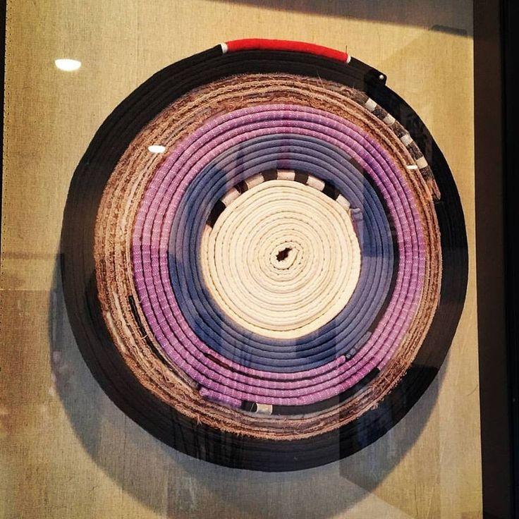 BJJ belt display