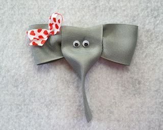 I Like Big Bows: Look! It's an elephant