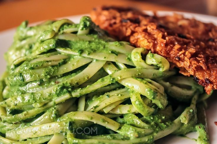 Tallarines Verdes // Peruvian Pesto
