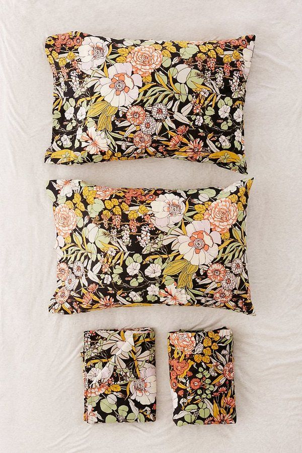 Mila Floral Sheet Set