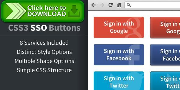 [ThemeForest]Free nulled download CSS3 Social Sign On Buttons from http://zippyfile.download/f.php?id=41408 Tags: ecommerce, aol, css3, facebook, google, linkedin, log on, msn, openid, sign in, sign on, social, sso, twitter, watermark, yahoo