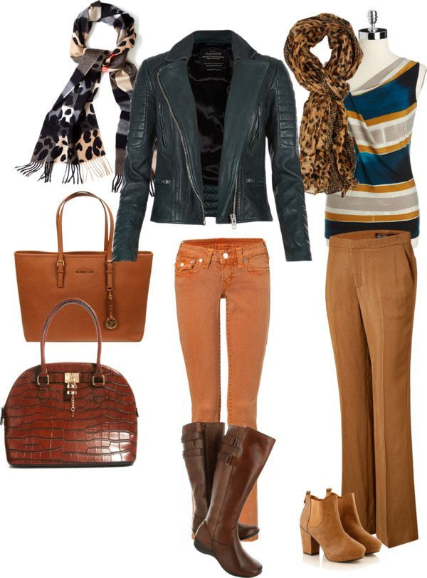 Fall Fashion Over 50 - classic fall outfit for women of a certain age #momfashion #fallfashion