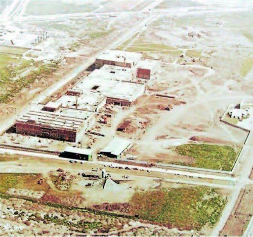 Construcción del Parque Arauco. Año 1979