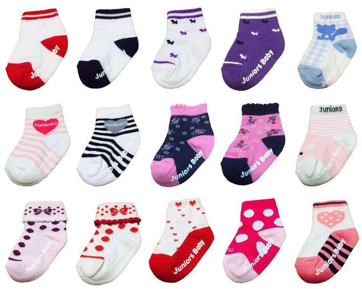 New 3-6 months Unisex Infant Variety Pattern Cotton Toddler Socks (15 options) #MIRINE #AnkleSocks
