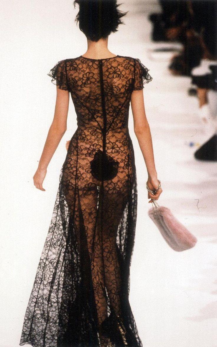 Sonia Rykel #sheerlace #runway