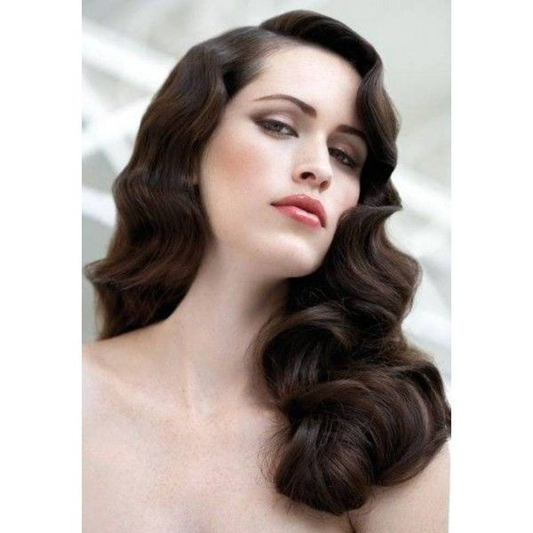 1920s long hair styles finger wave hairstyles liked on polyvore featuring 8268 | 67f4971da0bb4bfae3cc2ca183087833 wave hairstyles finger waves