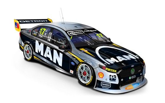1:18 Scale. Scott Pye #17 2015 DJR Team Penske MAN Truck and Bus Ford FG X Sydney Motorsport Park Round. This model is a sealed body diecast it has no opening parts  Limited Edition of TBA.  SRP: $160.00  Also available in 1:43 scale