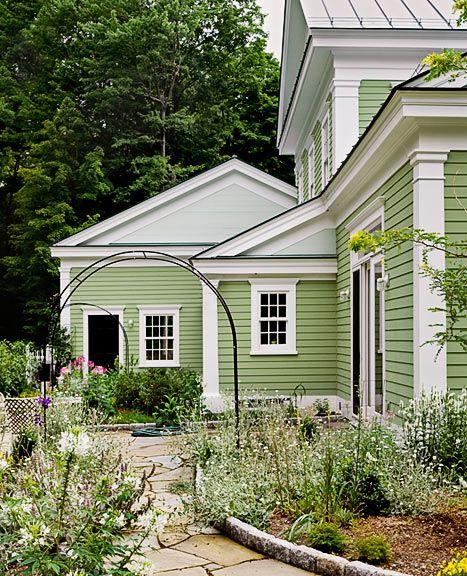Best 25+ Green house exteriors ideas on Pinterest | Green exterior ...