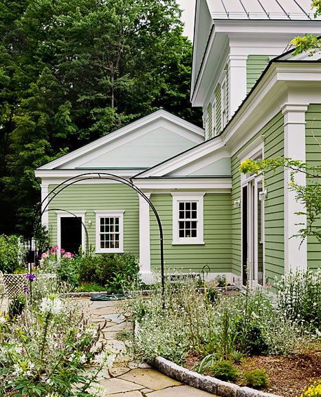 38 Best Paint Color Schemes Celery Green Images On: 112 Best Images About Exterior Paint Colors And Trim On