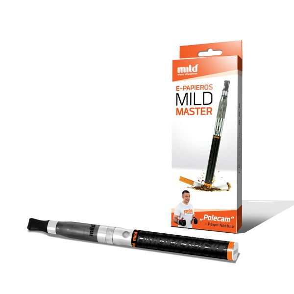 Mild Master - pojedynczy zestaw z pojemną baterią 1100 mAh. Idealny na początek przygody z e-paleniem. Polecam Zapal-E