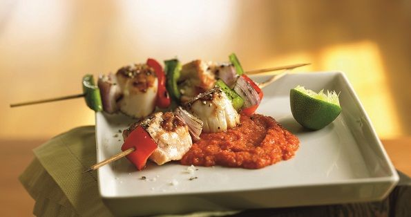 Dinner For Two Date Night Recipes: Salmon Skewer and Chocolate Mousse ...