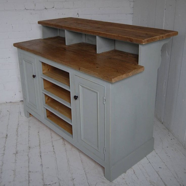 reclaimed wood kitchen island