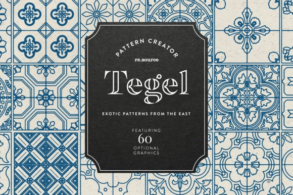 Tegel - Pattern Pack by re.source on @creativemarket