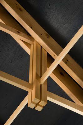 Tipo estructura entramada estructuras pinterest for Tejados de madera en galicia