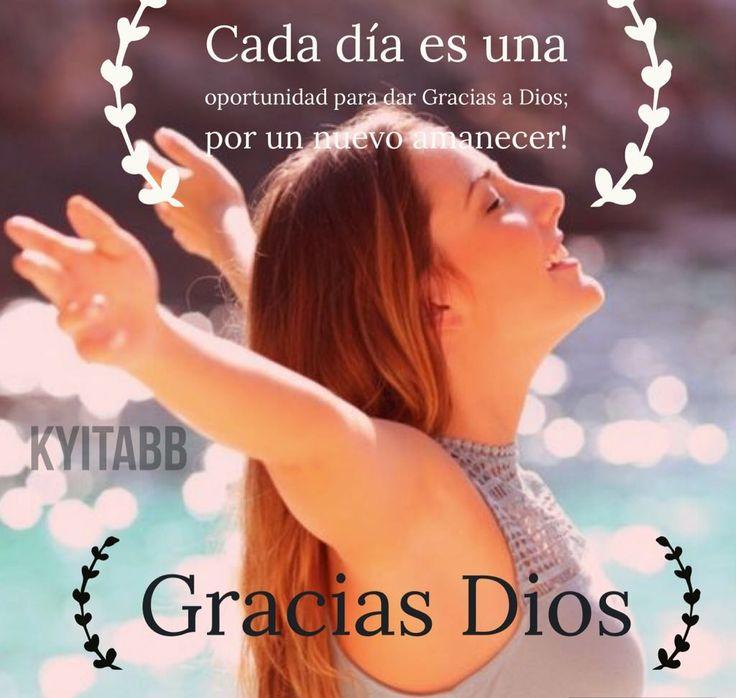 Cada día es una oportunidad para dar #Gracias al #Dios por un nuevo amanecer #FelizLunes #BuenosDias