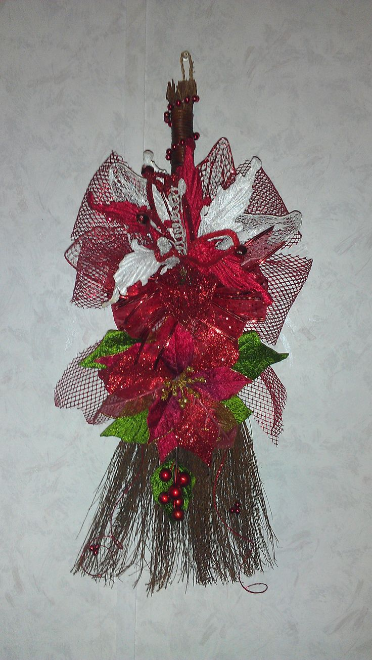 Cinnamon sticks for crafts - Christmas Cinnamon Broom With Peppermint Or Cinnamon Scent