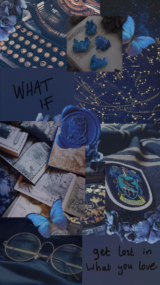 Harry Potter Aesthetic Tumblr Iphone Wallpaper Tumblr Aesthetic Blue Wallpaper Iphone Aesthetic Wallpapers