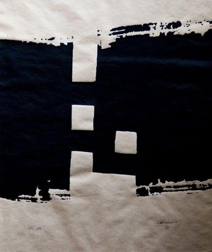Chillida en Espacio Fraile y Blanco. #arte #cultura