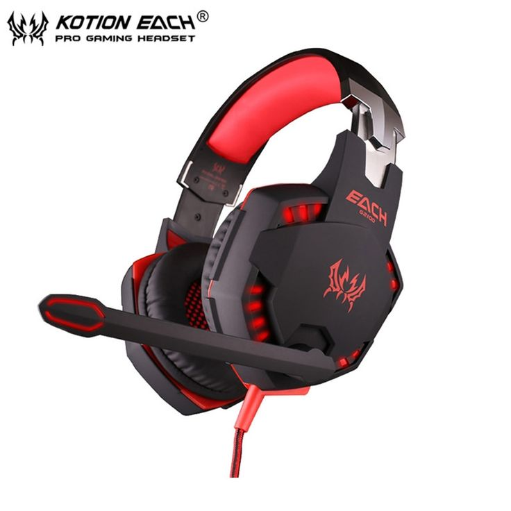 22.49$  Buy now - http://alikpf.shopchina.info/go.php?t=32759644459 - Computer Vibration Gaming Headphone Kotion EACH G2100 Stereo Bass casque Best Earphone Headset with Mic/LED for PC Game Gamer  #magazine