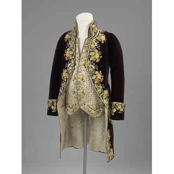 Court coat and waistcoat | V Search the Collections