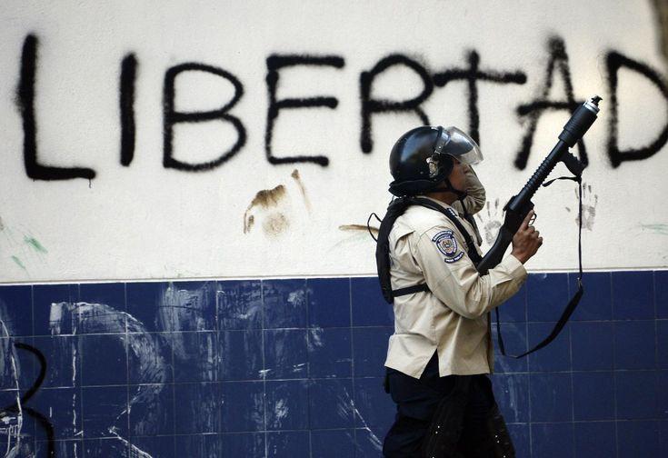 """""""Majdan"""" w Caracas"""
