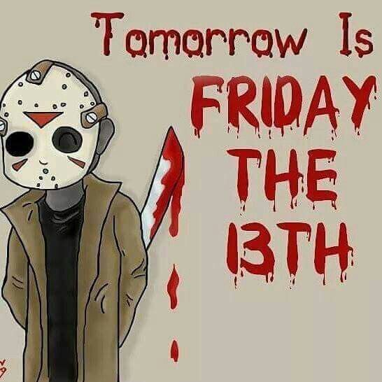 Roses are red, blood is too. Friday the 13, is coming soon.