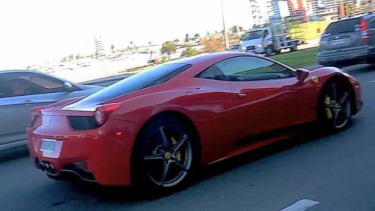 Ferrari 458 Italia ��Foto: @carsuruguay ��Motor: V8 4.5 Litros ��Potencia: 570cv ��Torque: 540nm ⌚0-100 km/h: 3.4 seg. ��Velocidad máx.: 321km/h ��Transmisión: Automática de 7 velocidades con modo secuencial ��Tracción: Trasera #italian #ferrari #ferrari458 #458 #458italia #maranello #supercars #uruguay #autos #coches #exotico #superauto #motor #power #carros #fastcar #auto #v8 #potente #potencia #luxury #luxurycars #autosexoticos #horsepower #exoticcar #carexotic #uruguay #montevideo…
