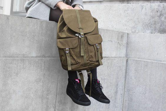 VANS U SK8-HI BLACK/BLACK, this sneaker is now available at www.frontrunner.nl